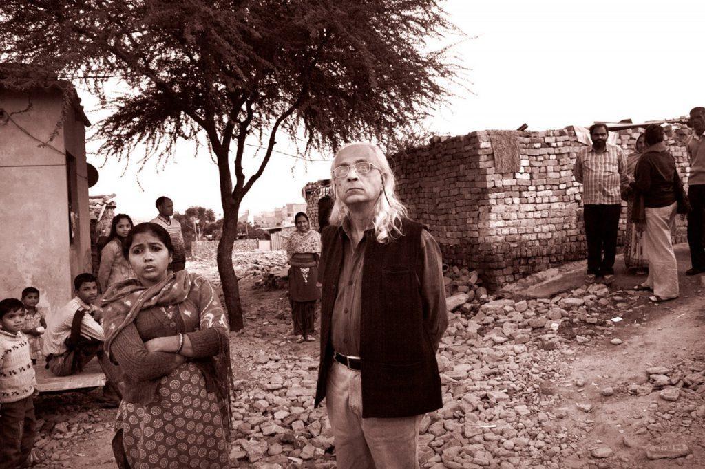 Hoş karşılanan bir gelişim: Dunu Roy Yeni Delhi'de şehrin fakirleriyle çalışıyor.