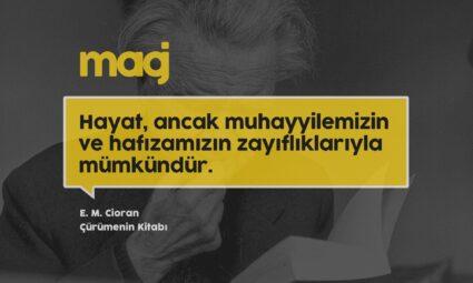 E. M. Cioran – Çürümenin Kitabı