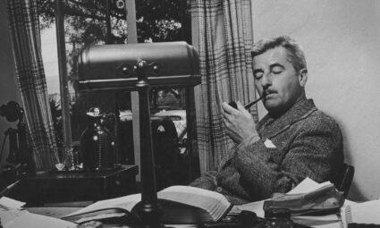 Canlı bir ölüm ilanı: Faulkner'ın kendisi için yazdığı mezar yazıtı