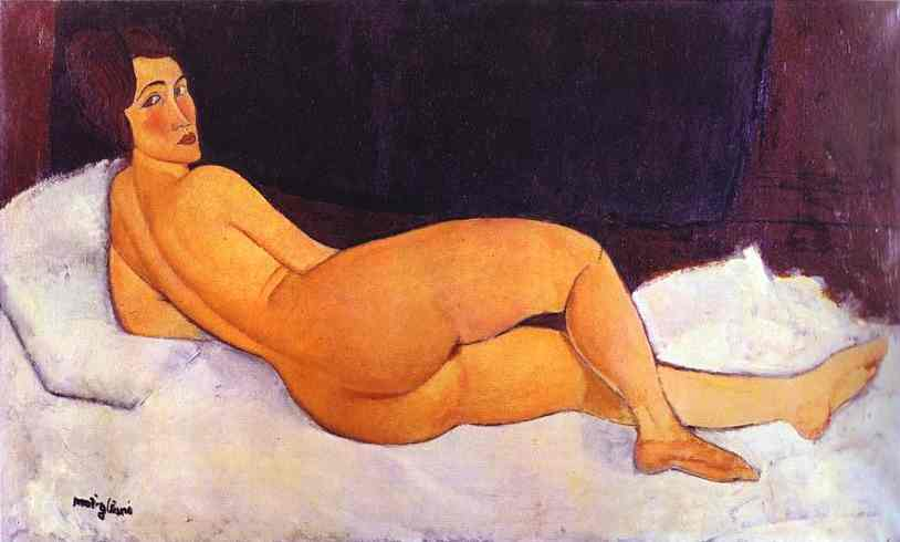 "Amedeo Modigliani: ""Happiness is an angel with a serious face"""